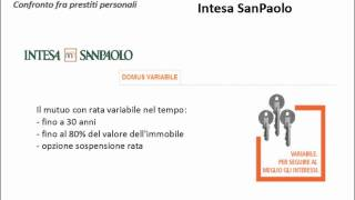 mutuo intesa san paolo