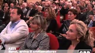 Renzi, il rottamatore arriva all'Alfieri - GRP Televisione