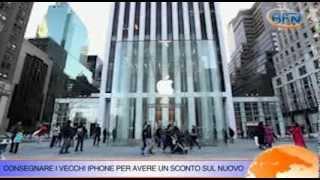 Apple: scatta l'incentivo sugli iPhone, rottamare il vecchio per il nuovo (VIDEONEWS)