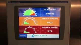 CENTRIFUGA: recupero dell'energia in frenata